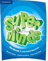 Английский язык /Super Minds/Workbook+Online Resources. Тетрадь к учебнику, 1 /Cambridge