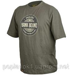 Футболка Prologic Bank Bound Badge Tee  green M