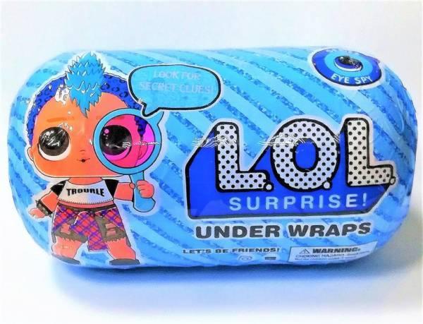 Кукла LOL surprise мальчик капсула 89211 В (216)