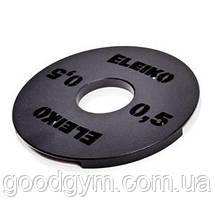 Пара дополнительных весов 0,5 кг для гантелей Eleiko Pro Dumbell, фото 3