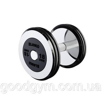 Гантель цельная Eleiko Pro 28 кг 3001963-0280, фото 2