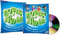 Английский язык /Super Minds/Student's+Workbook+DVD. Учебник+Тетрадь (комплект с диском), 1 /Cambridge