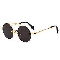 Мужчины Женское На открытом воздухе Случайные узкие рамки Современные ретро  круглые солнцезащитные очки 1TopShop ff3a2961190