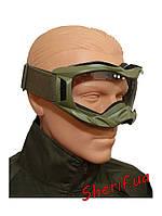 Очки маска тактические MIL-TEC Attack (Olive), 15615601