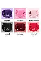 Косметичка мешок велюровая Travel Circle Velour бордовая 01037/02, фото 1