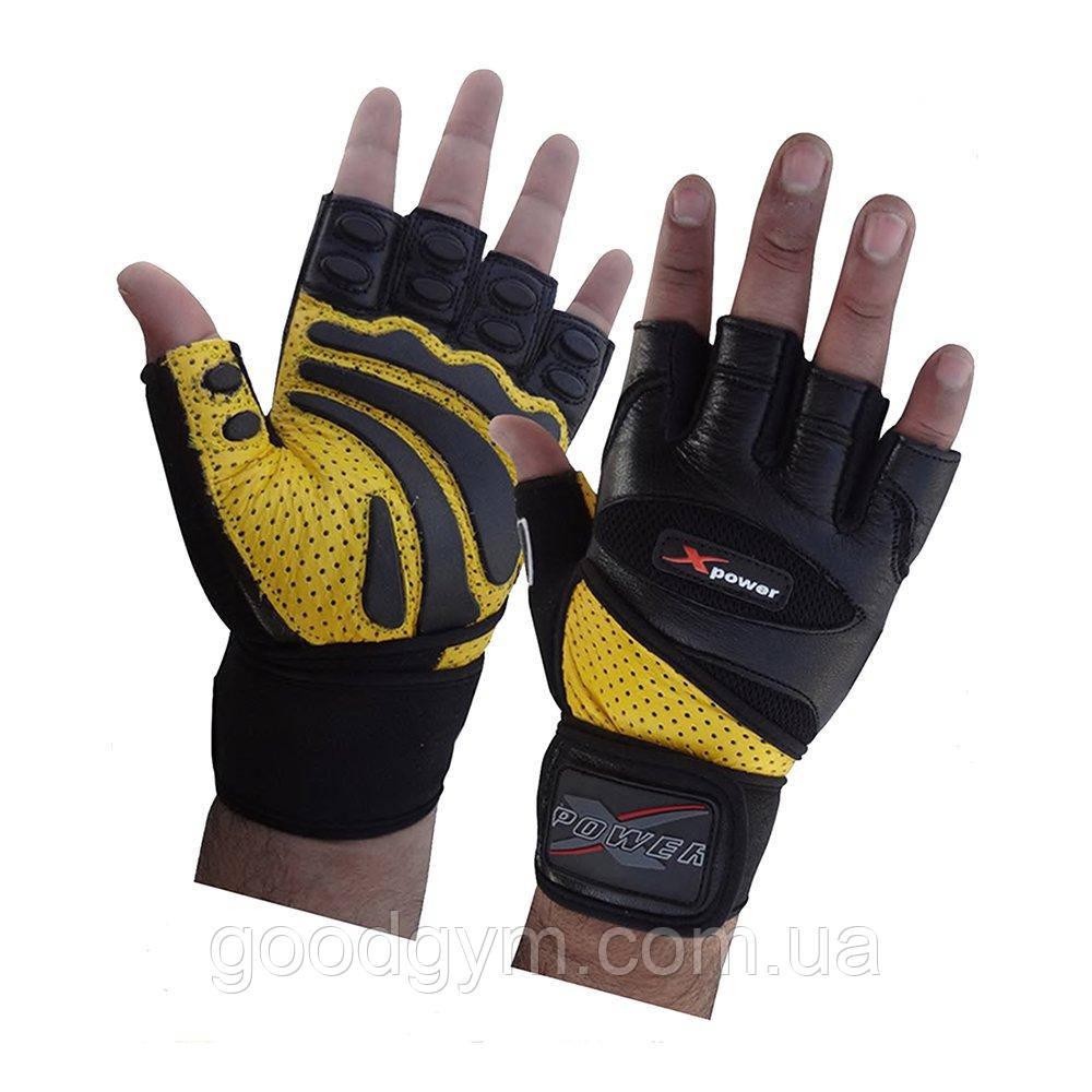 Перчатки для фитнеса X-power 9005 L/10