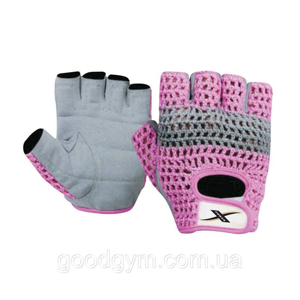 Перчатки для фитнеса X-power 9150 S/10