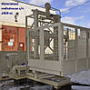 Н-83 метров. Мачтовый подъёмник  грузовой г/п 2000 кг, 2 тонны., фото 4