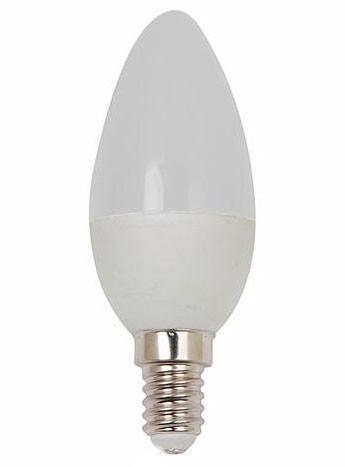 Светодиодная лампа Horoz 4360L 3.5W С37 Е14 3000K свеча Код.58297