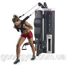Тросовый тренажер для мышц брюшного пресса / бицепса FreeMotion F501, фото 2