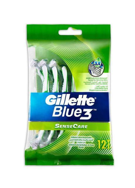 "Станок мужской одноразовый ""Gillette Blue 3 Sense Care"" (12 шт.)"