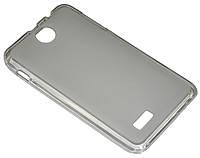 Чехол (силиконовая  накладка) для телефона Lenovo A590 прозрачный