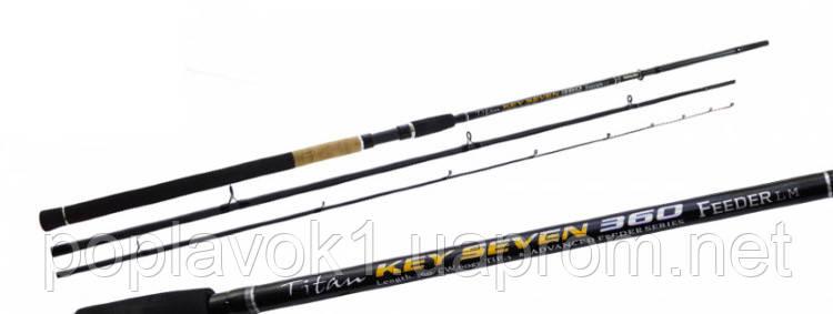 Удилище Фидерное Fishing ROI Titan Key Seven 360MH Feeder 100gr