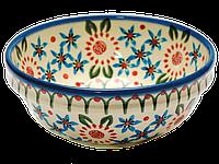 Керамическая пиала с рантом 15 Mosaic flower