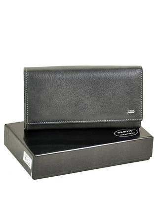 924a62b249e7 Женский кожаный кошелек Dr. Bond серый купить в Киеве с доставкой по ...