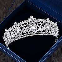 Невеста горный хрусталь кристалл принцесса королева корона тиара головы ювелирных изделий венчания выпускного вечера партии головной уб 1TopShop
