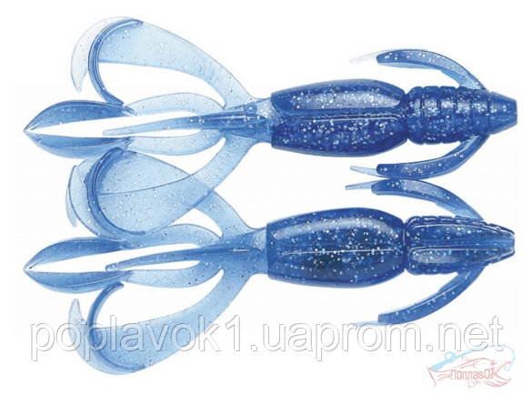 "Силикон Keitech Crazy Flapper 2.8"" ц:301 sapphire blue"