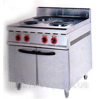 Плита электрическая 4-х конфорочная с духовкой A032 Sybo