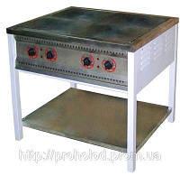 Плита электрическая 4-х конфорочная ПЕ-4 Ч без духовки