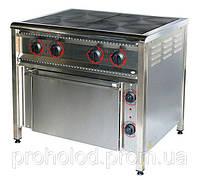 Плита электрическая 4-х конфорочная ПЕ-4Ш Н с духовкой.
