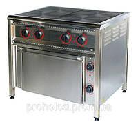 Плита электрическая 4-х конфорочная ПЕ-4Ш с духовкой.