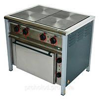 Плита электрическая 4-х конфорочная ПЕ-4Ш Ч с духовкой.