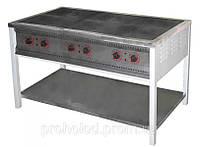 Плита электрическая 6-ти конфорочная  ПЕ-6 без духовки