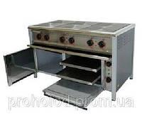 Плита электрическая 6-ти конфорочная  ПЕ-6Ш с духовкой.