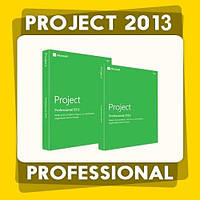Офисное приложение Microsoft Project Professional 2013 (x32-x64). Электронный ключ активации - 1PC