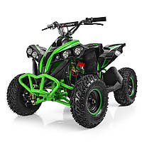 Квадроцикл PROFI HB-EATV1000Q-5 Черно-зеленый. HB-EATV1000Q
