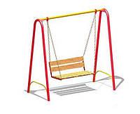 Качели со скамейкой