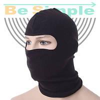 Балаклава с начесом. Функциональная шлем-маска для защиты лица