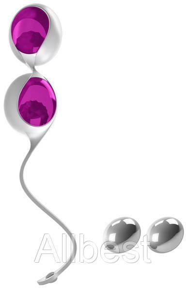 Вагинальные шарики OVO L1 Loveballs Lilac (OVOL1LIL)