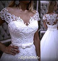 Свадебное платье,белое
