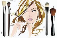 Кисти для макияжа лица HULU
