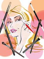 Кисти для макияжа глаз HULU