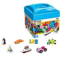 Конструктор детский  -  развивающая игрушка для детей от 4 лет из 460 деталей