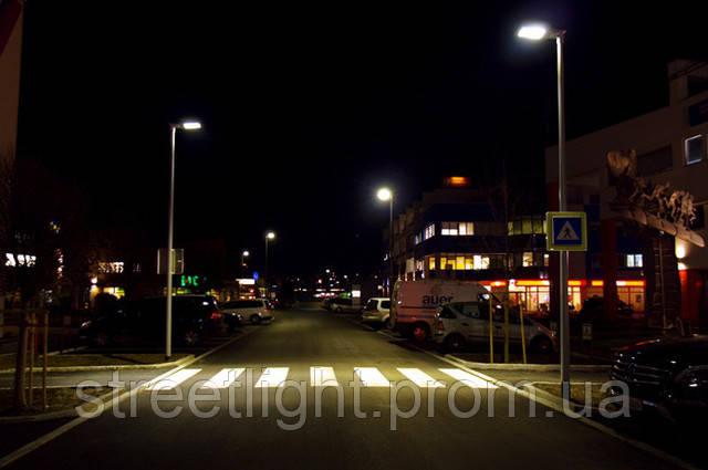 Светодиодное освещение пешеходных переходов