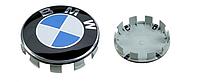 Колпак в диски для BMW 68 мм зашлушка значек эмблема в колеса