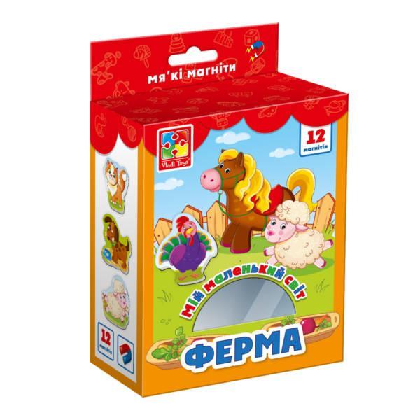 """Гра настільна """"Мій маленький світ """"Ферма"""", Vladi Toys"""