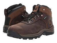 Ботинки/Сапоги (Оригинал) Timberland PRO Flume Mid Work Steel Safety Toe Waterproof Brown Nubuck Leather, фото 1