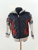 Детская куртка для мальчика 4-8лет