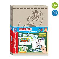 Дидактичний матеріал з магнітами «English», Vladi Toys, фото 1