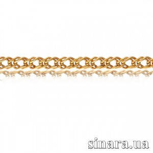 Золотая цепочка Ромбо 1087