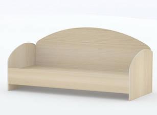 Ліжко односпальне в спальню/дитячу КР-1 Тіса меблі