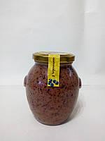 Крем-мед з чорницею, 0,35л