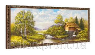 """Картина YS-Art FA002B """"Старая плотина"""" 50x100"""