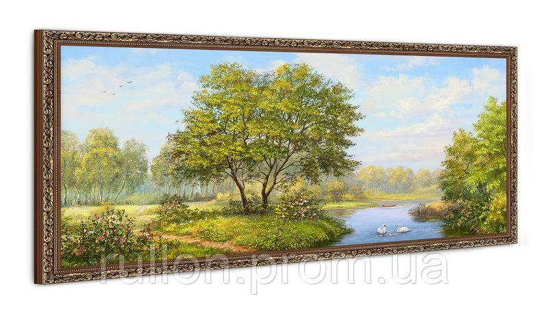 """Картина YS-Art FA010B """"Дерево у воды"""" 50x100"""