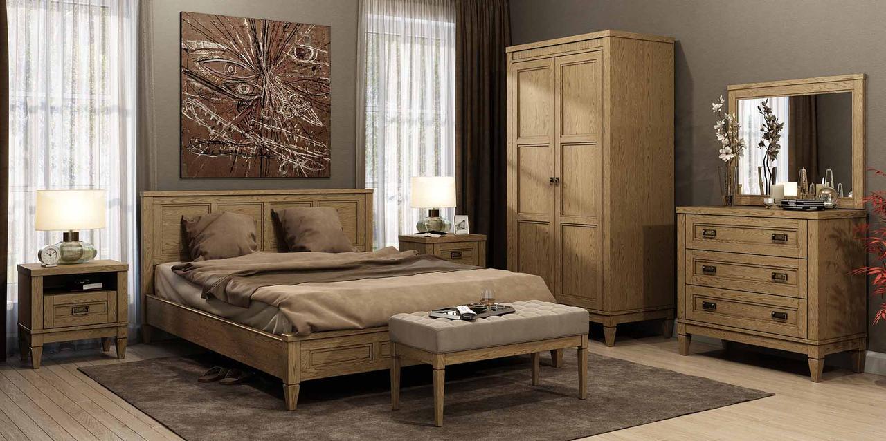 Спальня Баварія 2Д Мебус