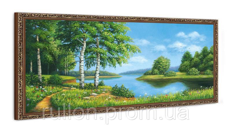 "Картина YS-Art FA019B ""Тропа у воды"" 50x100"